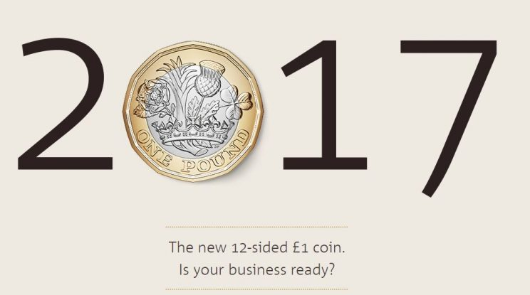New £1 Coin Upgrading Coin Validators